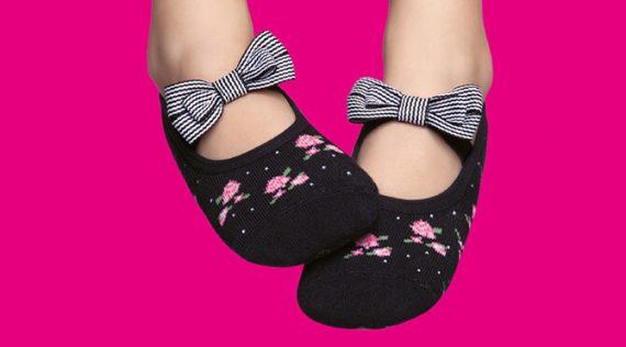 Girls' Grip Socks