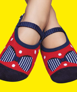 Girls' Rubber Sole non-slip Socks