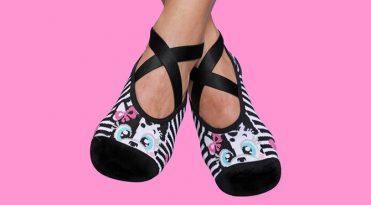 Grip Socks - Black & White