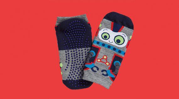 Men's Yoga Grip Socks