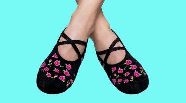 Pilates Grip Socks