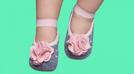 Grip Socks for Baby Girls