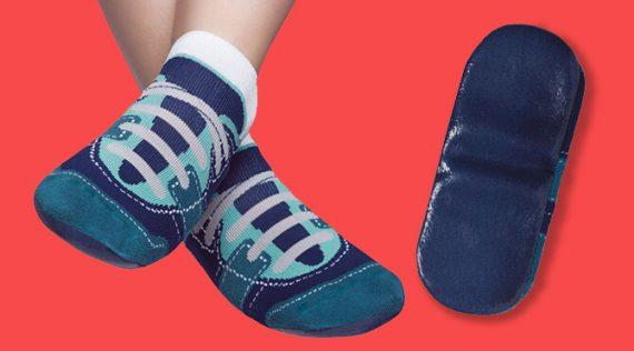 Puket Men's Grip Slipper Socks