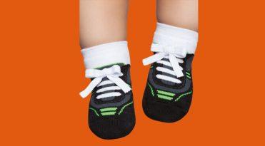 Babies' Grip Sole Socks