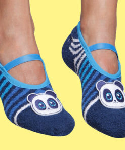 Grip Sole Socks - Panda Detail