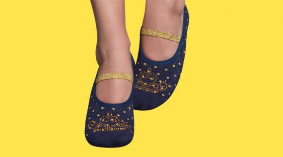 Women's Non-slip Socks - Princess