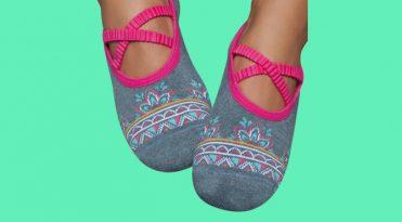 Yoga Grip Socks - Ballet Pump Shape