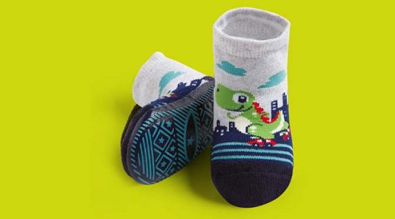 Grip Sole Socks for Babies