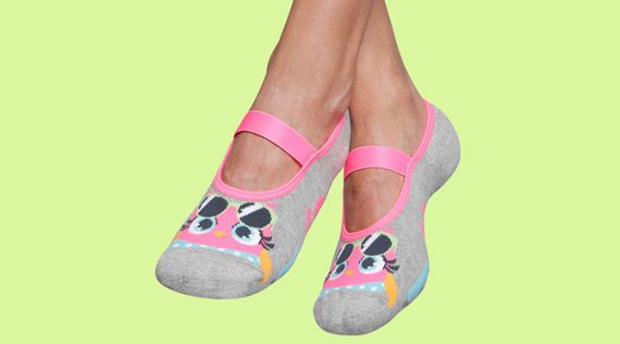 Pilates Anti-slip Socks