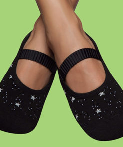 Women's Grip Socks - Shiny Stars