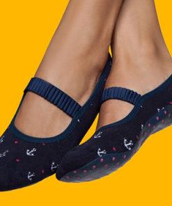 Women Rubber Sole Socks