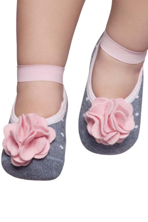 Baby Non Skid Socks Girl